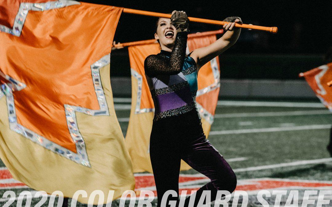 2020 Color Guard Staff Announced